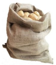 NEW Nutleys 50 x 80cm Large Hessian Potato and Vegetable Sack (5 pack)